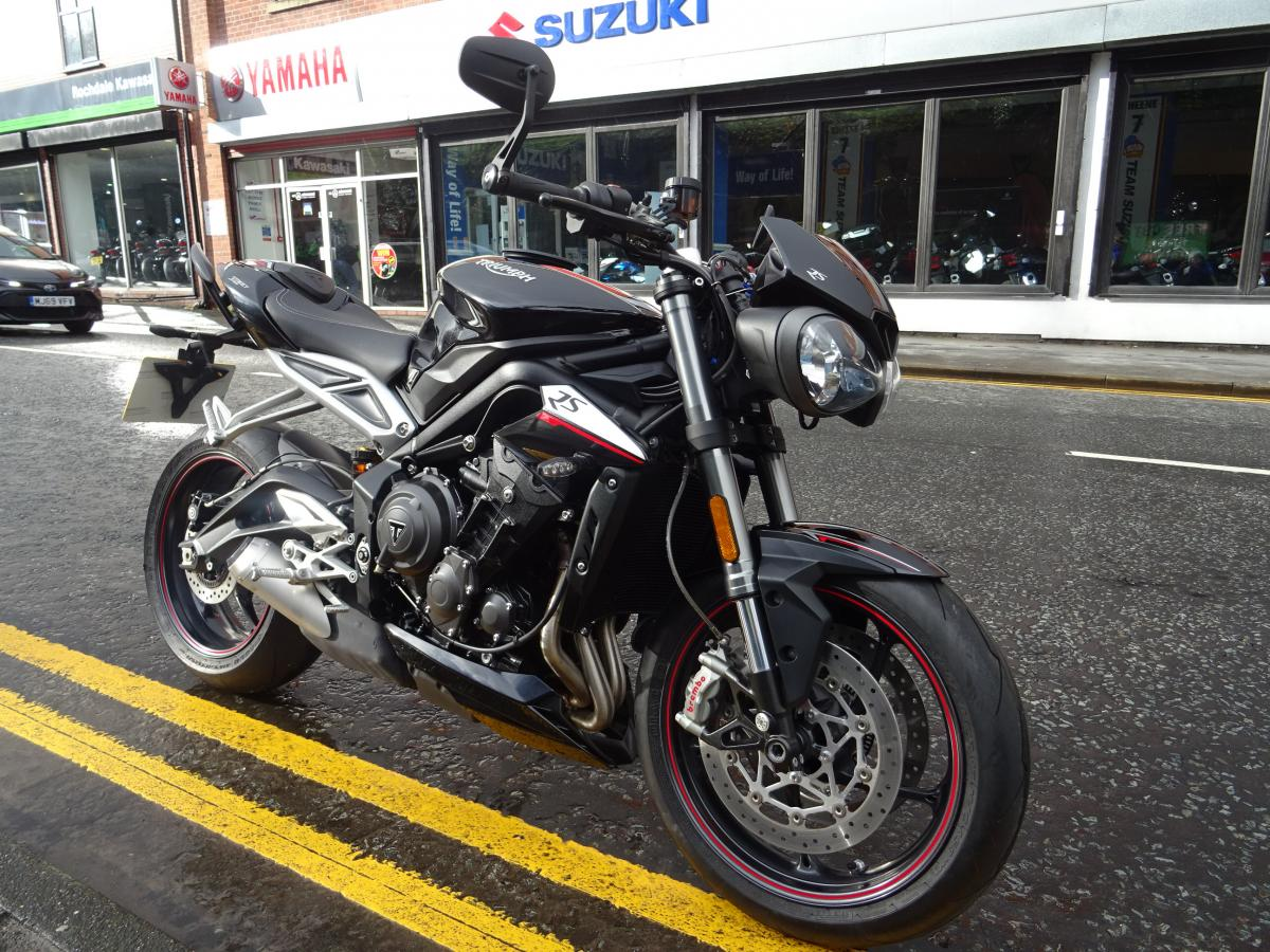 Triumph STREET TRIPLE 765 RS 2017