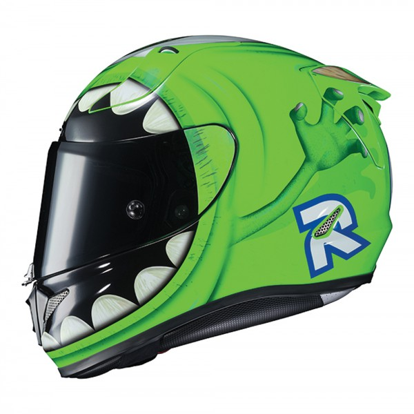 HJC R-PHA 11 Disney Pixar Monsters, Inc. Mike Wazowski Helmet XL
