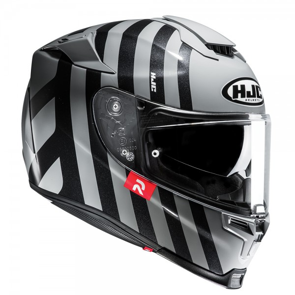 HJC Rpha 70 Forvic Black And Silver Helmet