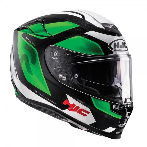 HJC Rpha 70 Grandal Green Helmet