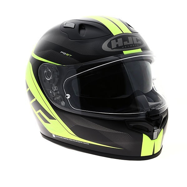 HJC Fg-St Crono Green Helmet XL