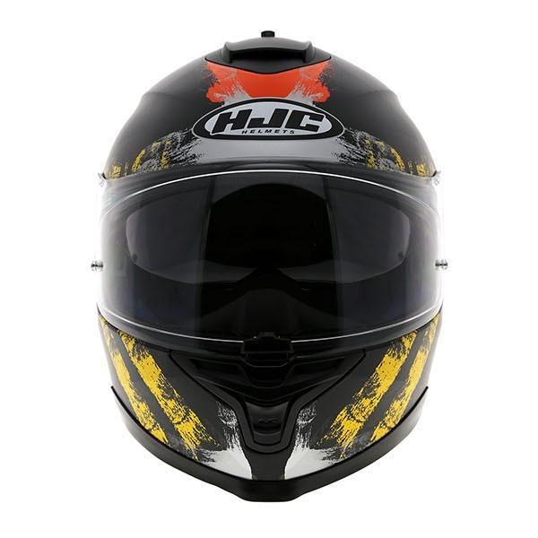 HJC IS-17 Shapy Yellow Helmet