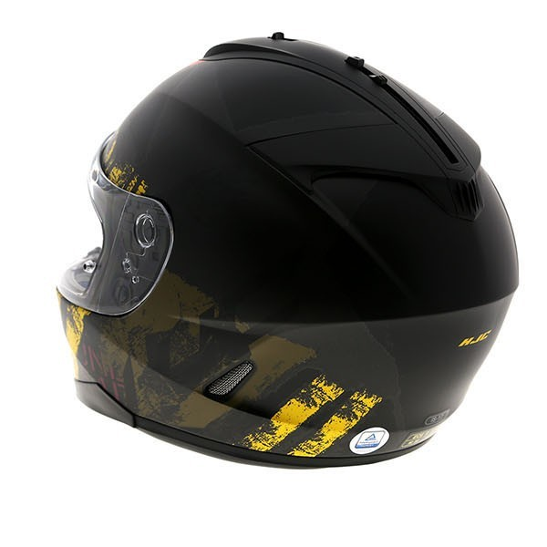 HJC Is-17 Shapy Yellow Helmet