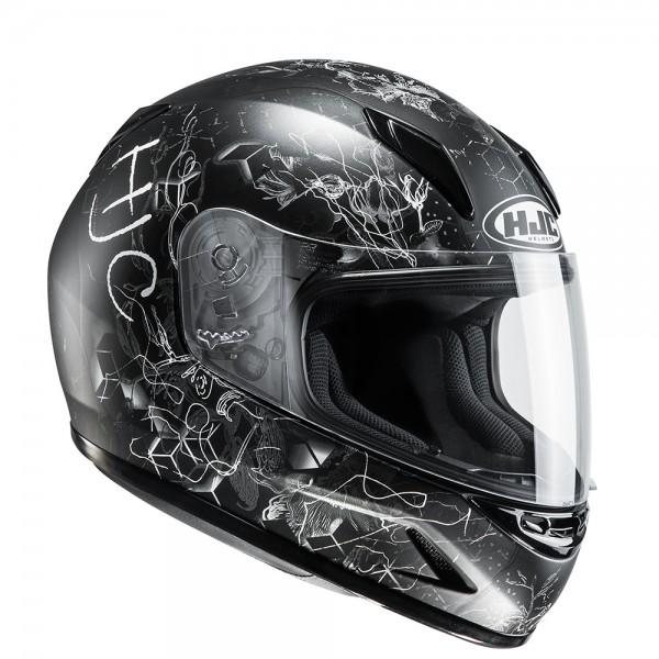 HJC CL-Y Vela Women's/Child Helmet White