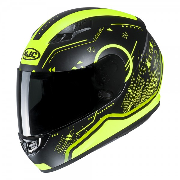 HJC CS-15 Safa Fluo Helmet