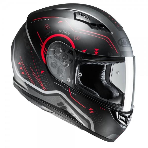 HJC CS-15 Safa Red Helmet XS