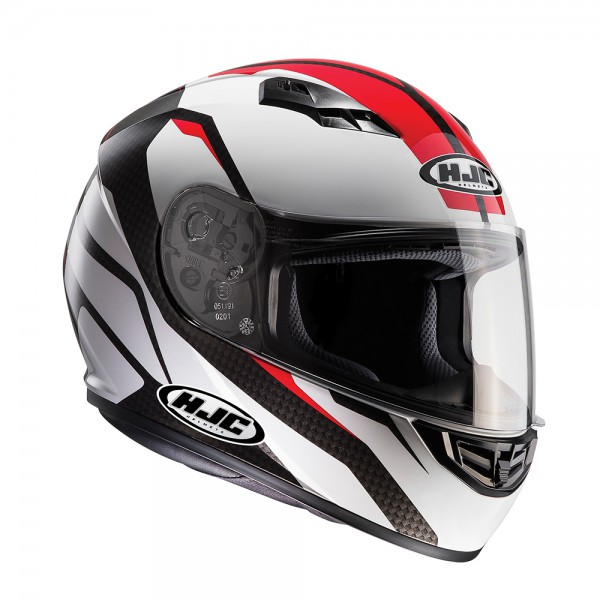 HJC Cs-15 Sebka Red/White Helmet Small