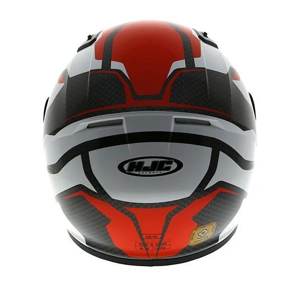 HJC Cs-15 Sebka Red/White Helmet Small