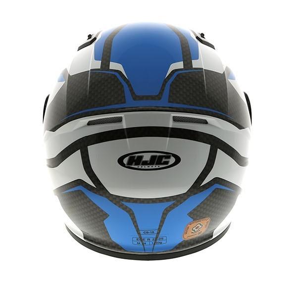 HJC Cs-15 Sebka Blue And White Helmet