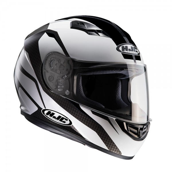 HJC CS-15 Sebka Black/White Helmet Small