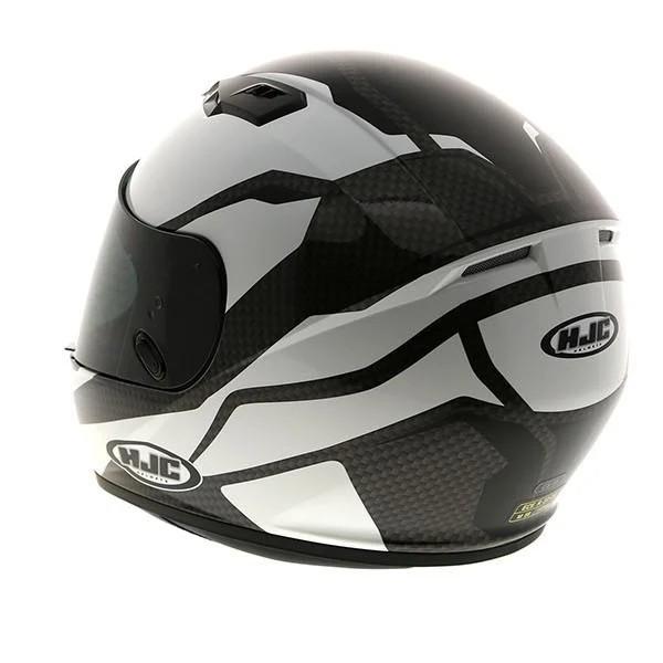 HJC Cs-15 Sebka Black And White Helmet