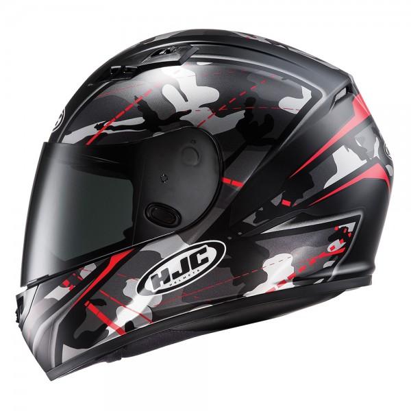 HJC CS-15 Songtan Red And Black Helmet