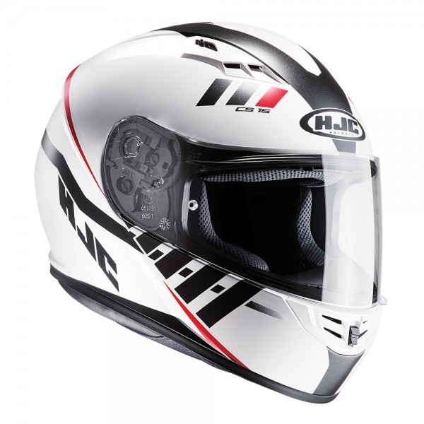 HJC CS-15 Space White Helmet Small
