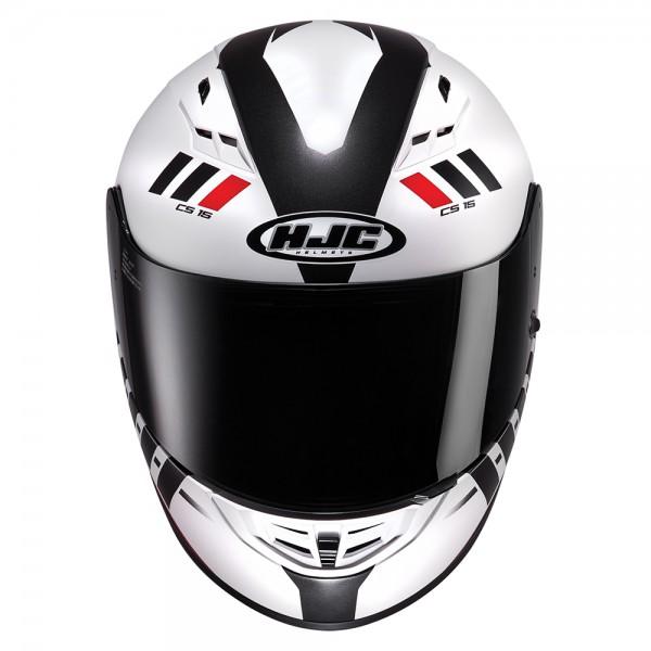 HJC Cs-15 Space White Helmet