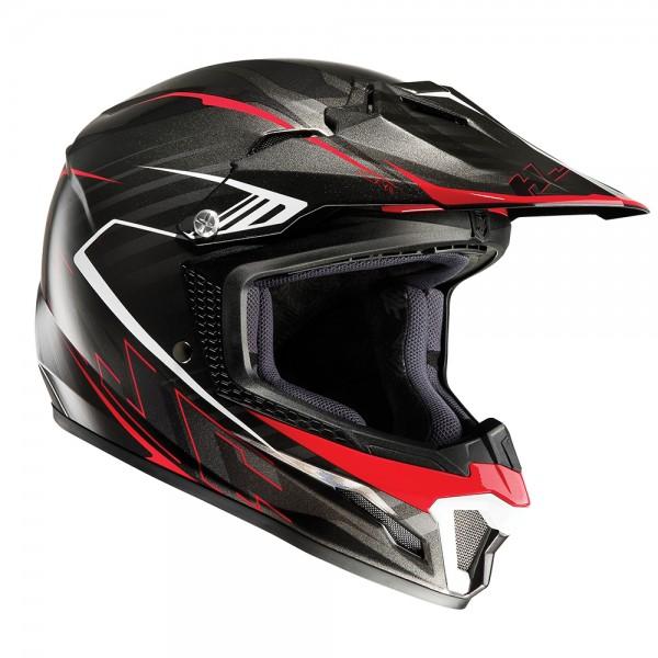 HJC Kids CL-XY II Blaze Red Motocross Helmet Medium