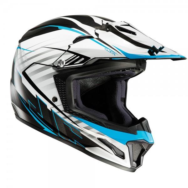 HJC Kids CL-XY II Blaze Blue Motocross Helmet