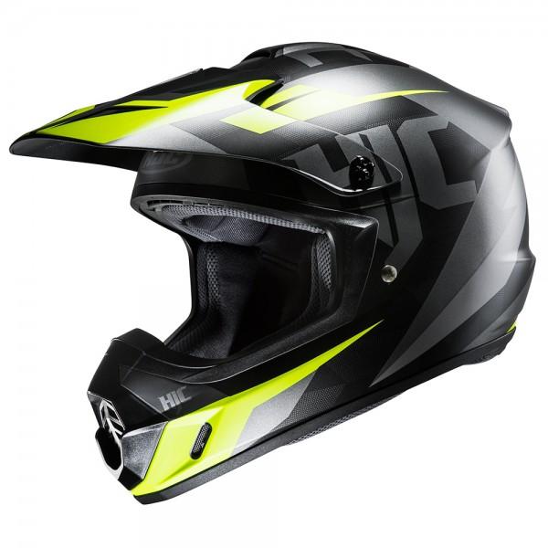 HJC CS-MX II Dakota Black And Fluorescent Motocross Helmet