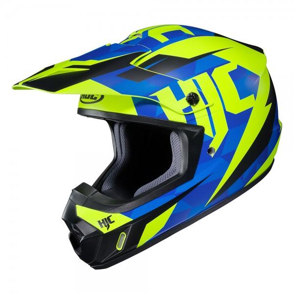 HJC CS-MX II Dakota Blue & Fluo