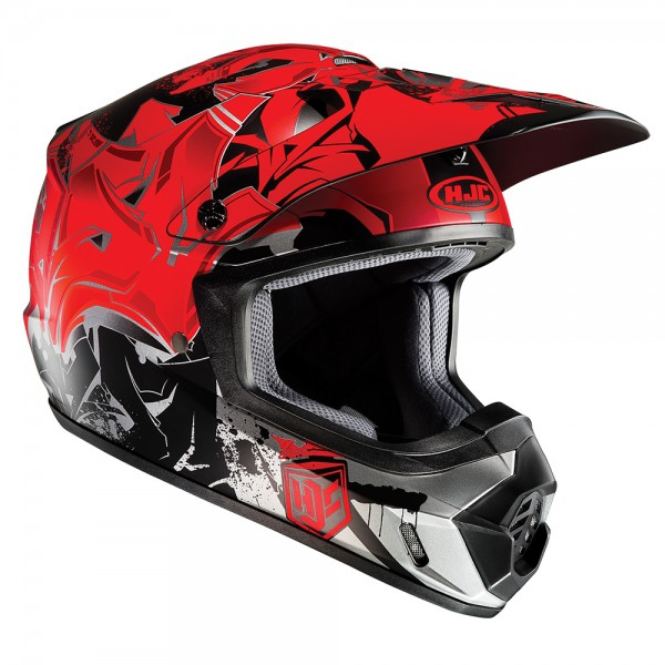 HJC CS-MX II Graffed Red