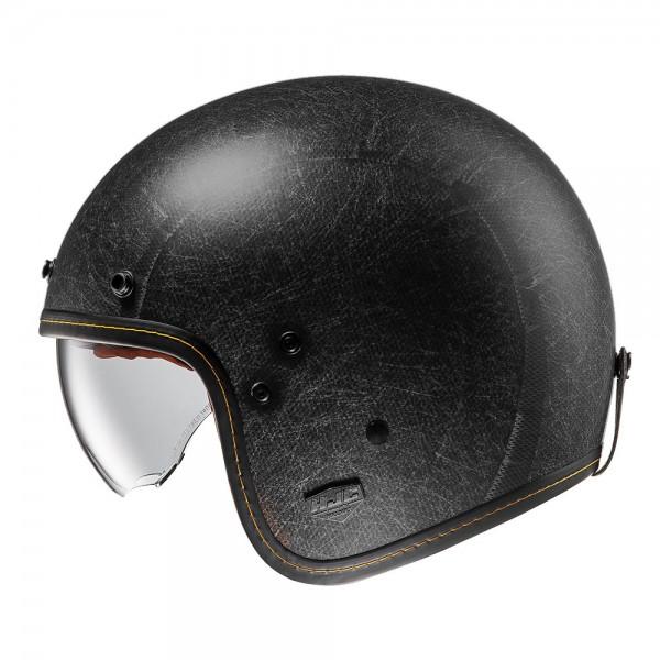 HJC FG-70s Vintage Flat Black
