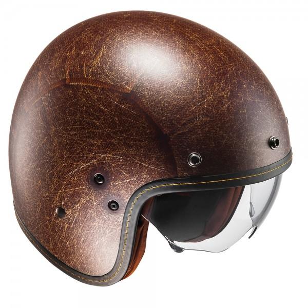 HJC FG-70s Vintage Flat Brown Helmet