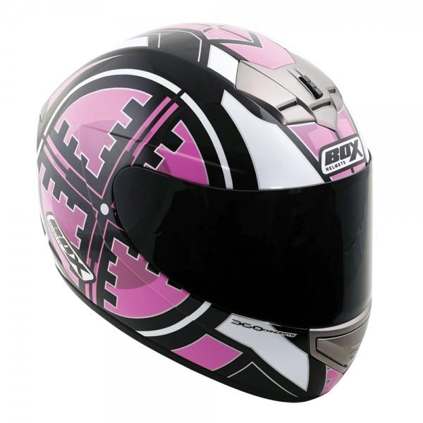 Box BX-1 Scope Full Face Helmet Pink