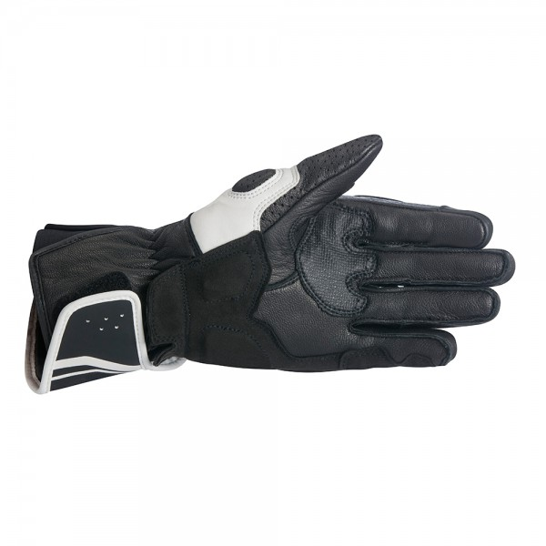 Alpinestars Stella SP-8 V2 Leather Gloves - Black/White