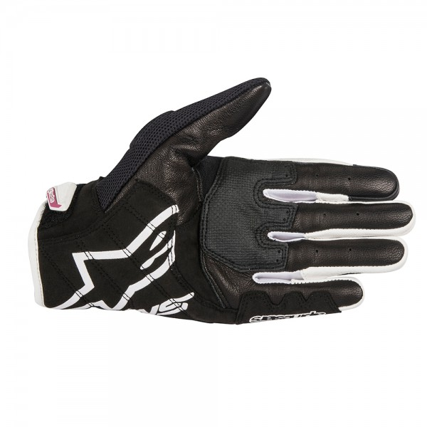 Alpinestars Stella SMX 2 v2 Air Carbon Gloves - Black White & Fuchsia
