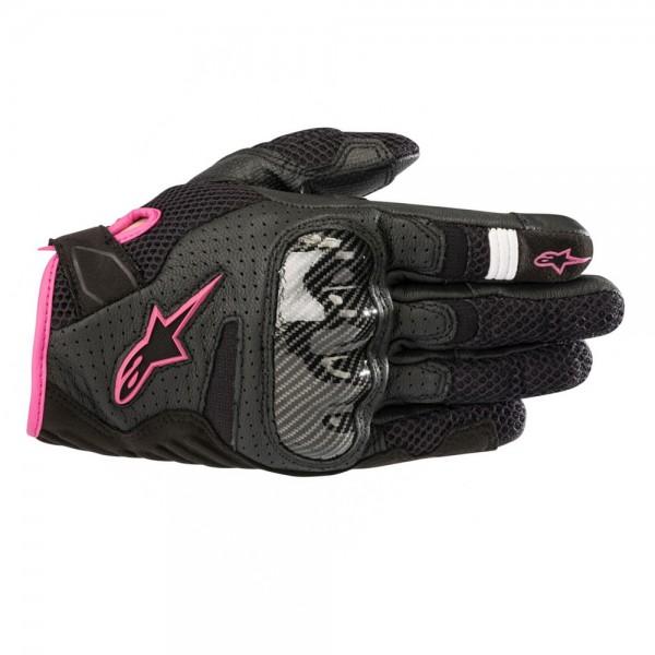 Alpinestars Stella SMX-1 Air v2 Gloves Black & Fuchsia