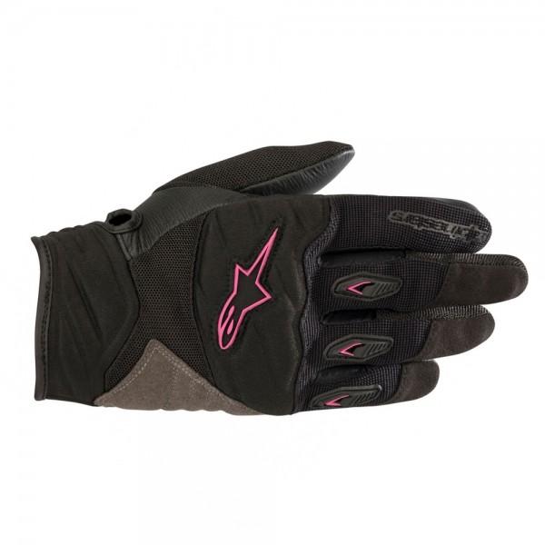 Alpinestars Stella Shore Gloves - Black & Fuchsia