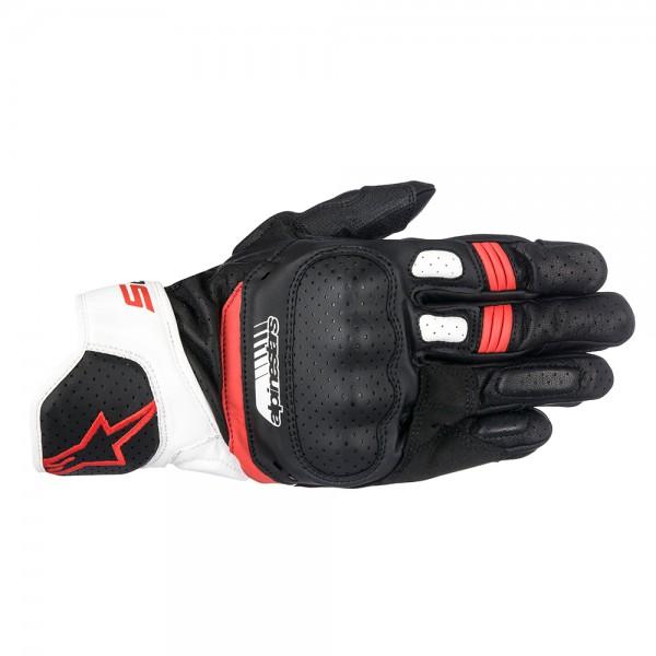 Alpinestars SP-5 Gloves White & Red