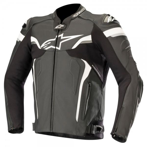 Alpinestars Celer v2 Leather Jacket Black & White