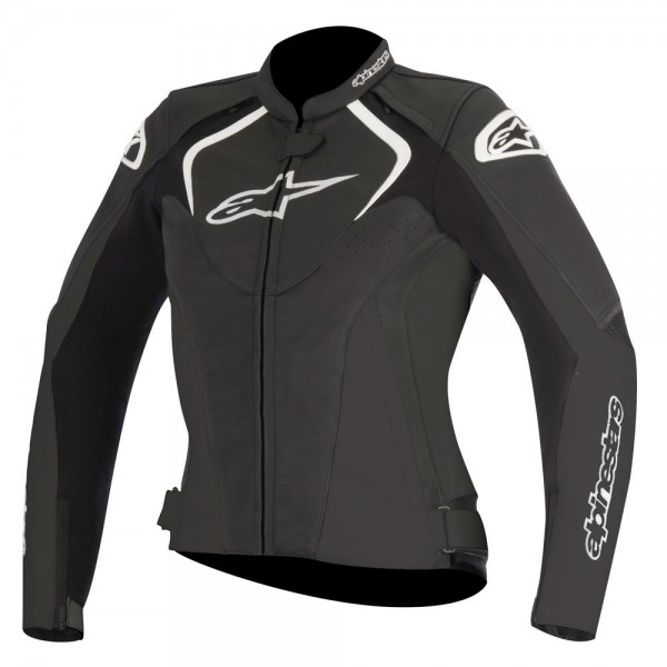 Alpinestars Stella Jaws Leather Jacket Black