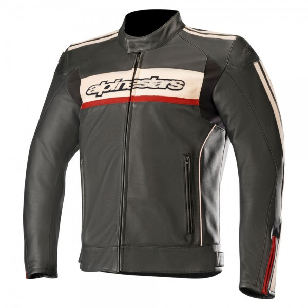 Alpinestars Dyno v2 Leather Jacket Black