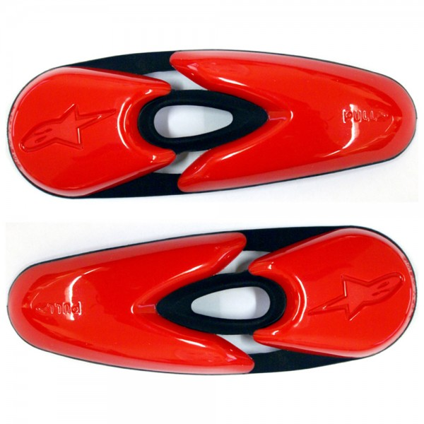 Alpinestars Toe Slider Supertech/S-MX R/5 RED
