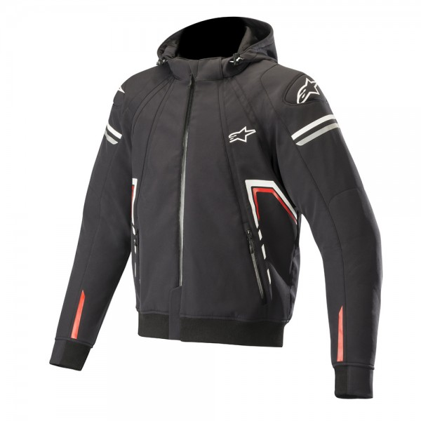 Alpinestars Sektor Hoodie Black White & Red