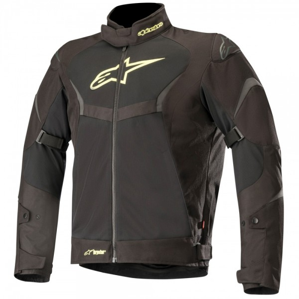 Alpinestars  T-Core Air Drystar Jacket Black & Yellow