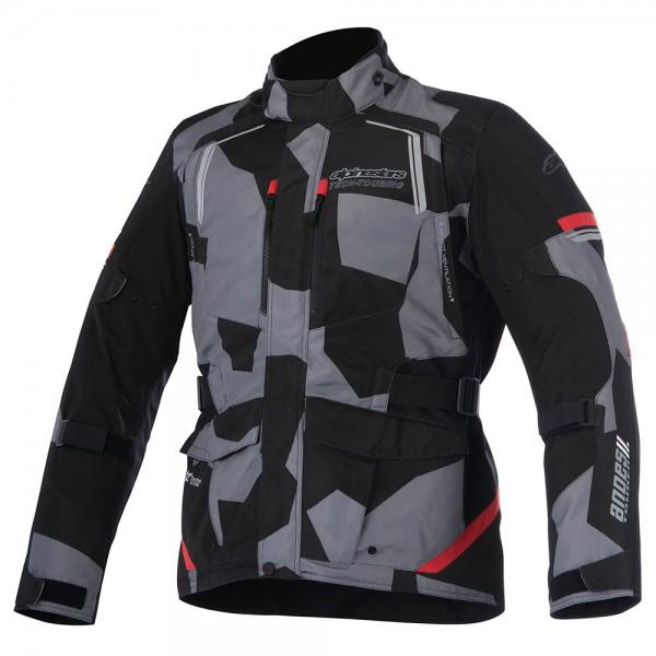 Alpinestars Andes Drystar Jacket v2 - Camo Red