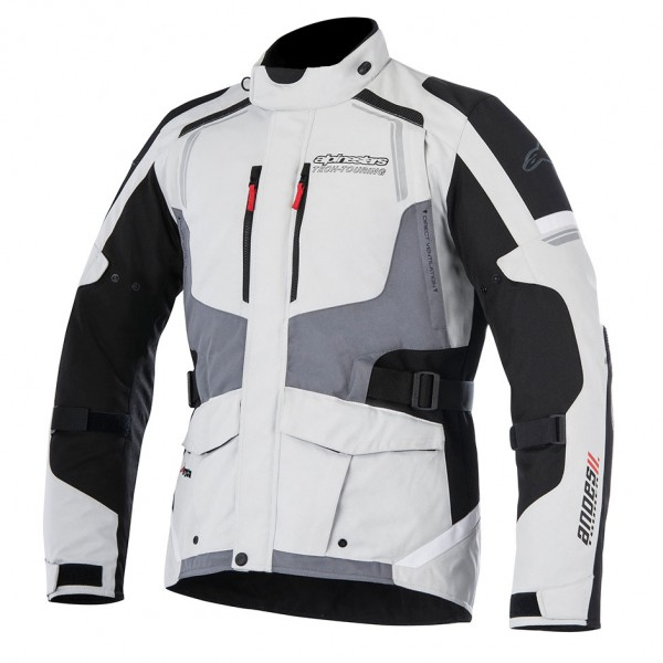 Alpinestars Andes Drystar Jacket v2 Black & Dark Grey
