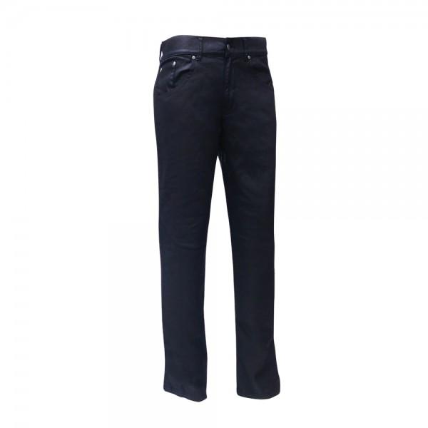 Bull-it Women's Oil Skin SR6 Black Jeans Regular
