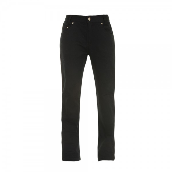 Bull-It Women Ebony Sr6 Black Jeans Long