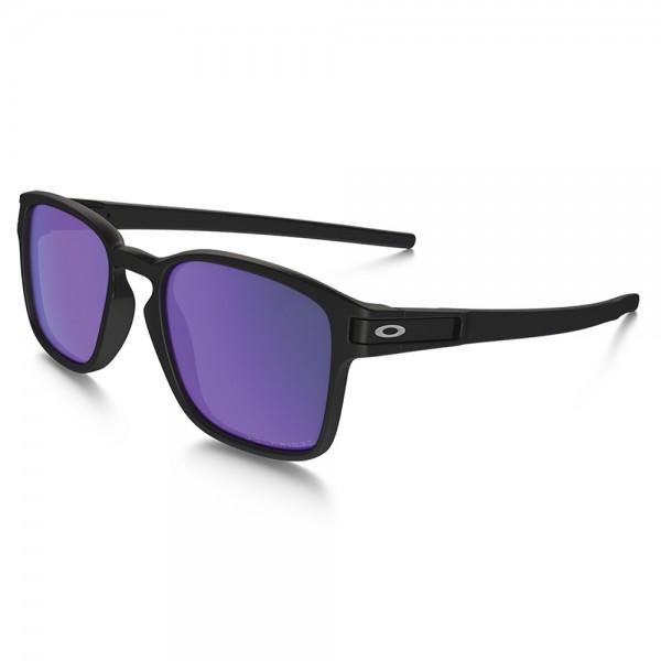 Latch Sq Matte Black violet Irid Pol