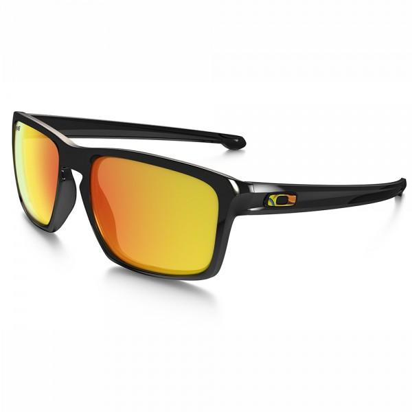 Oakley Sliver Vr46 Rossi Polished Black fire Irid