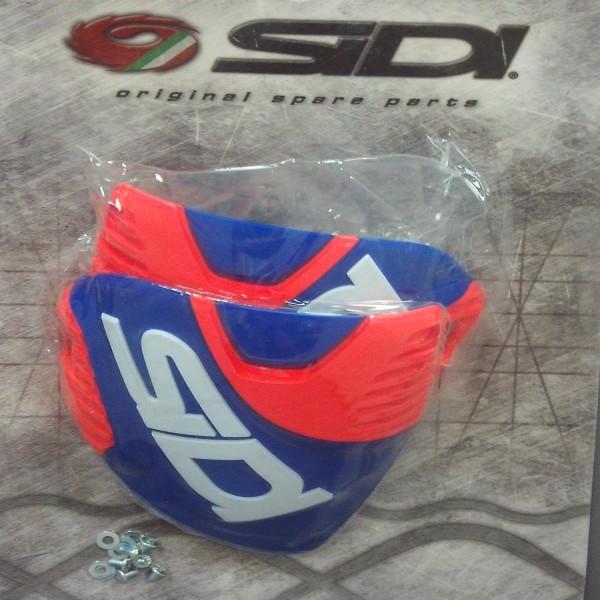 Sidi Crossfire 3 Shin Plate Blue & Red Flo