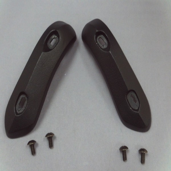 Spada Curve Evo Toe Sliders Black