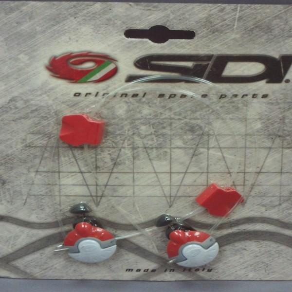 Sidi Vertigo Corsa Tecno-Ii System White & Red