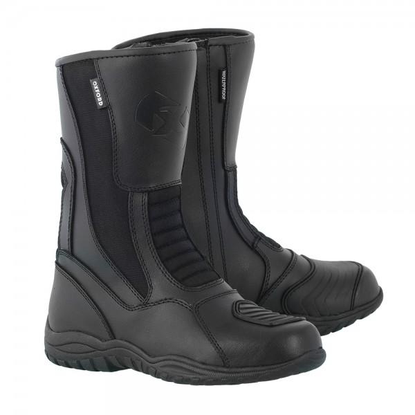 Oxford Tracker Boots Black