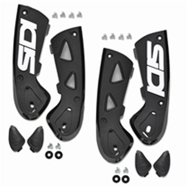 Sidi Vortice Ankle Support Braces-Black 39-44 Pair