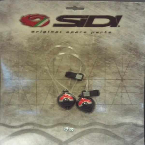 Sidi Techno Shin Tensioner 2 Vortice Red 45-48