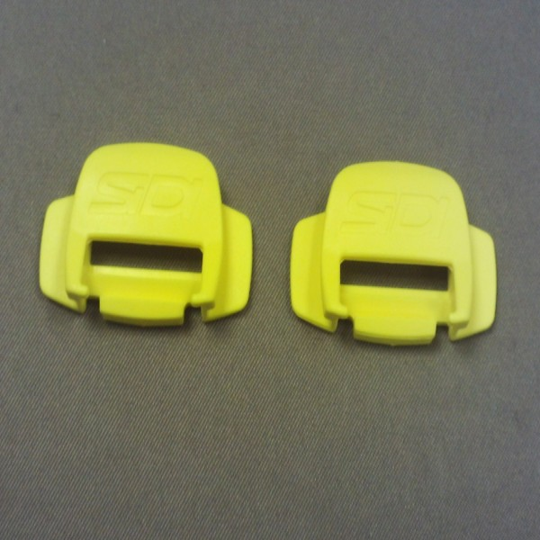 Sidi Mx/st Strap Holder For Pop Buckle Yellow